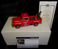 Matchbox Collectibles: 1955 Chevrolet 3100 Pickup AAA Towing & Service - 1/43 Scale - YRS01-M